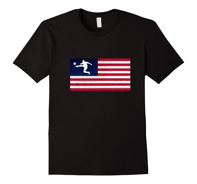 Soccer Us Flag American Football Gift Shirts