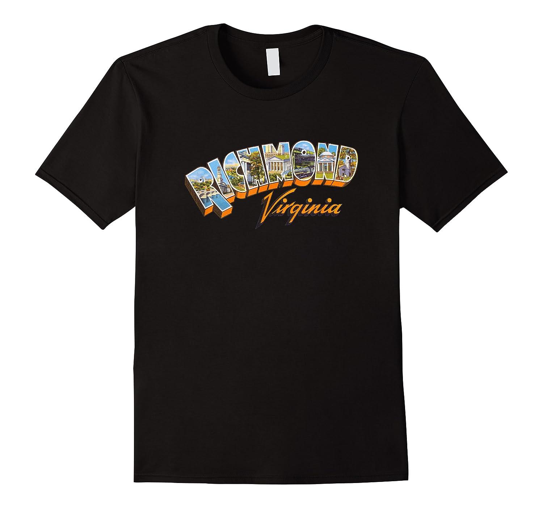 Richmond Va Retro Vintage Virginia Souvenir Shirts