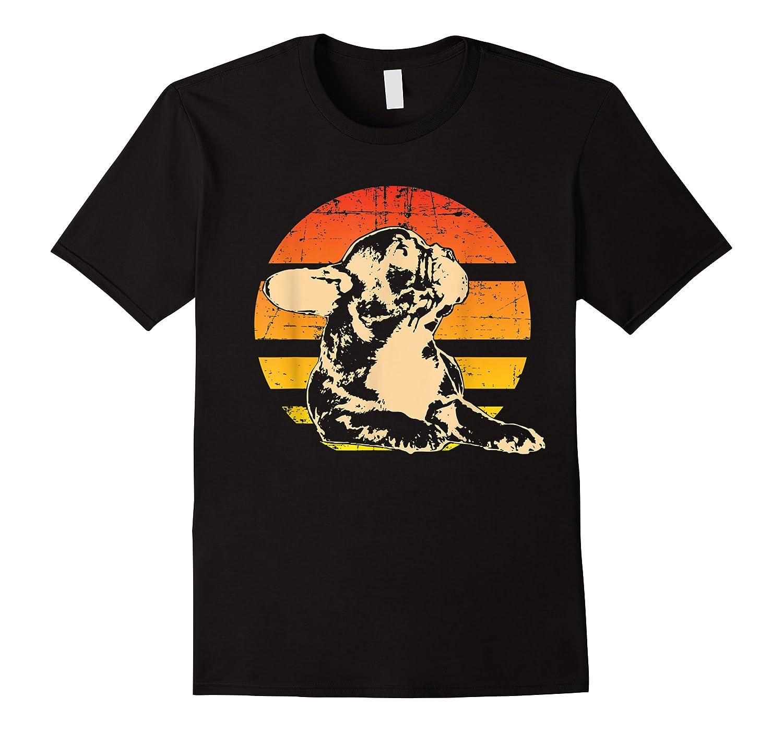 Retro French Bulldog T-shirt Gift