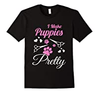 Pet Grooming For Cute Groomer Gift Shirts Black