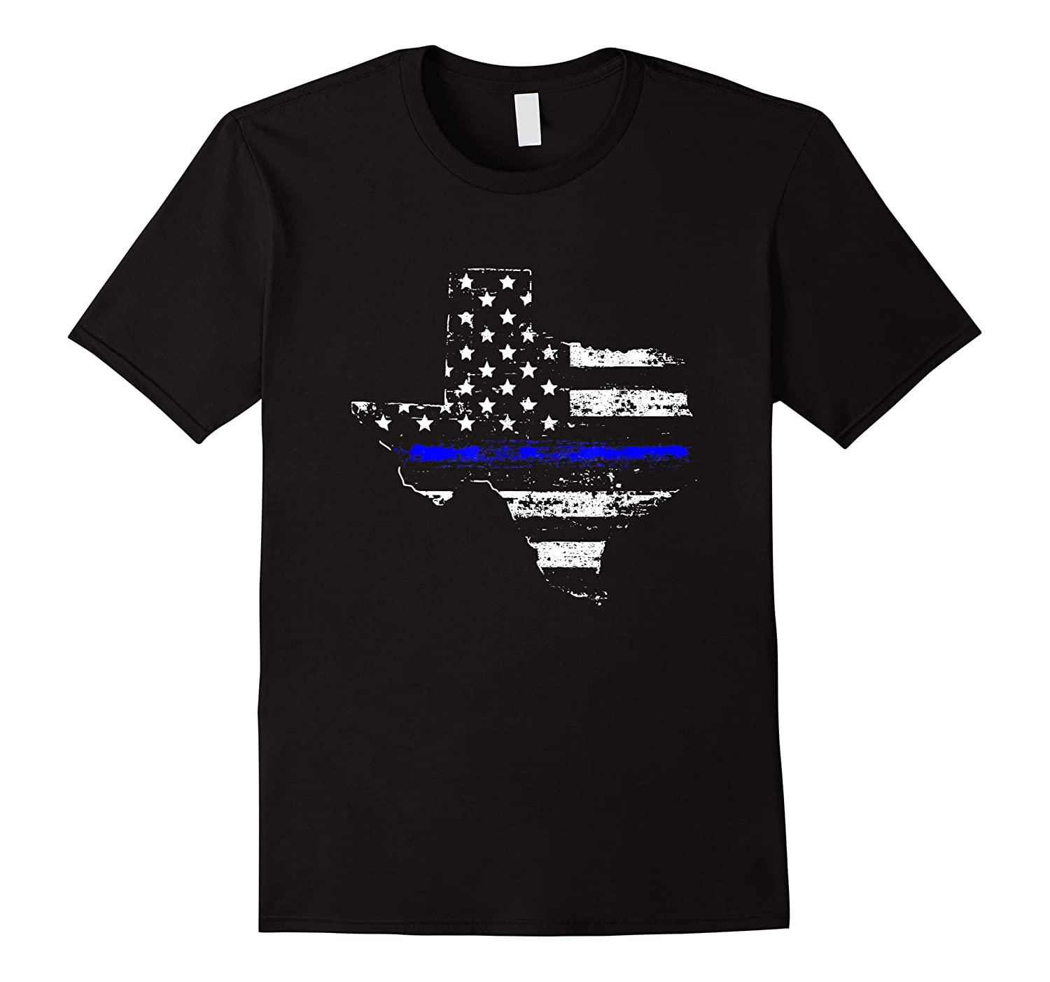 Texas Back The Blue Support Thin Blue Line Shirts