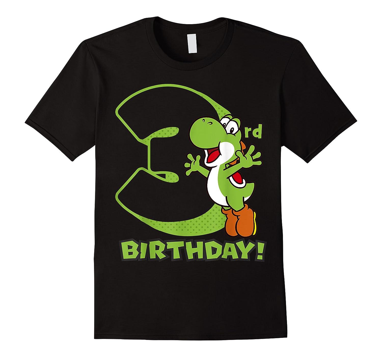 Super Mario Yoshi 3rd Birthday Action Portrait T-shirt