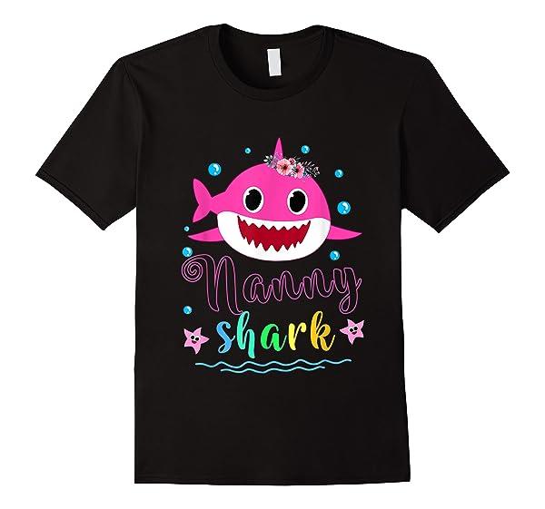 Nanny Shark Doo Doo Doo Shirt Matching Family Shark T-shirt