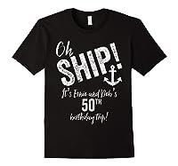 Ernie And Debs Birthday Cruise Shirts Black