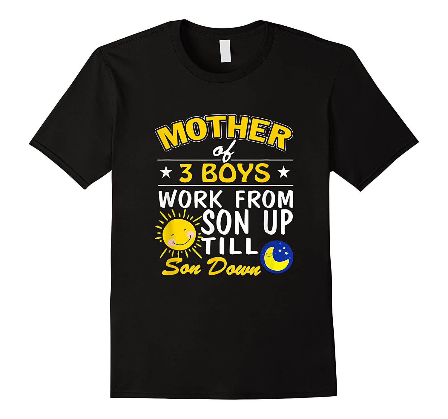 Mother's Day Mother Of 3 Shirts