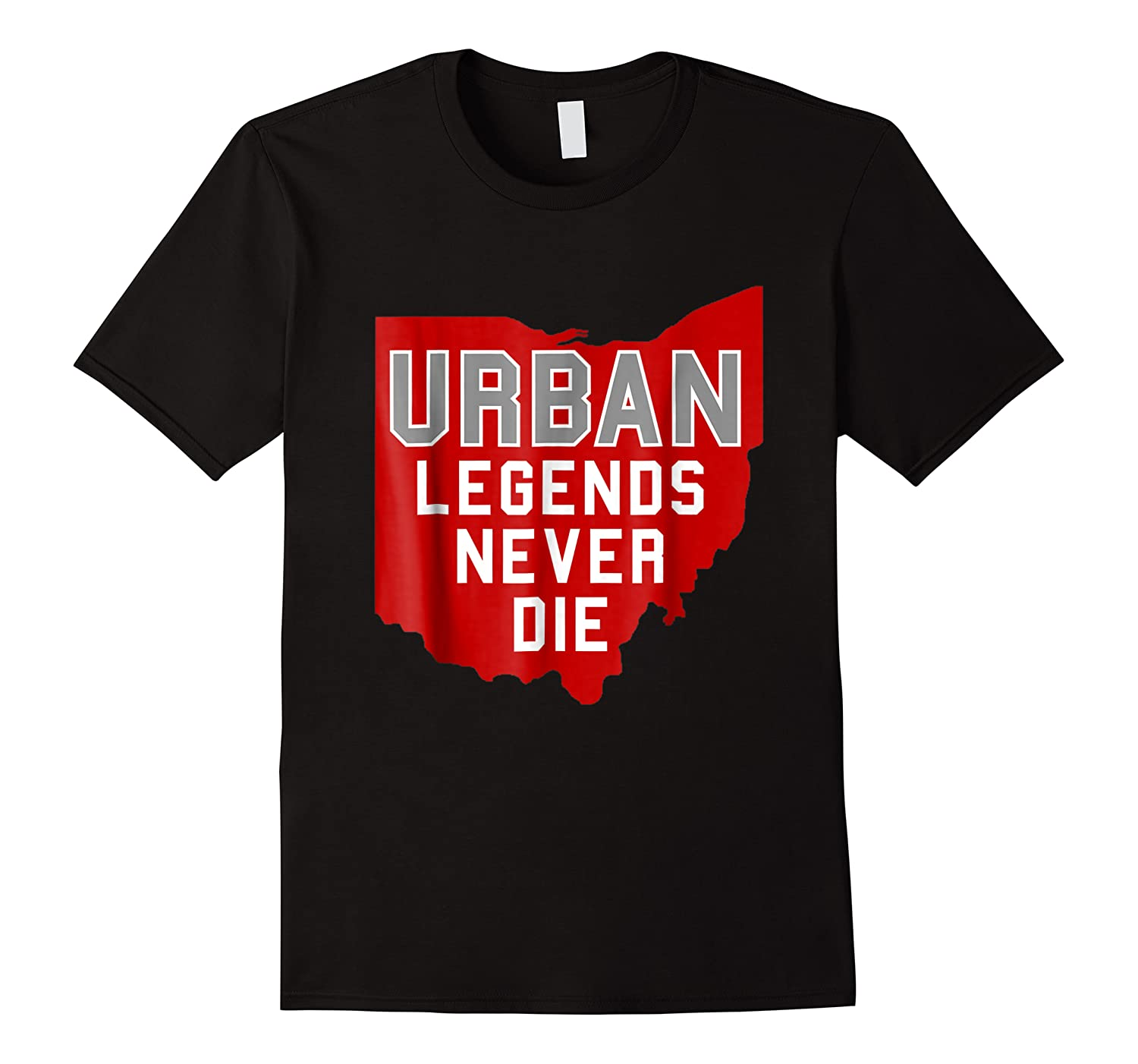Urban Legends Never Die State Of Ohio Ohioan Pride Shirts