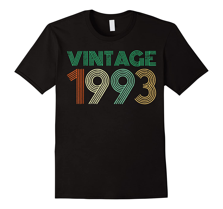 26th Birthday Gift Idea Vintage 1993 T-shirt Distressed