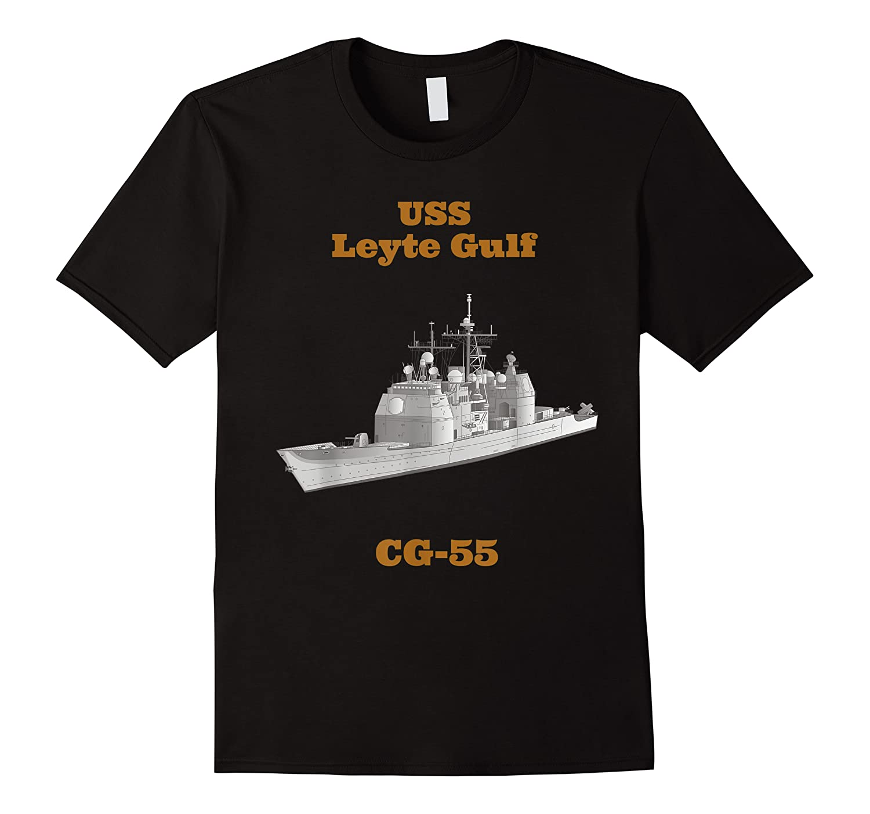 Leyte Gulf Cg 55 Navy Sailor Veteran Gift Shirts