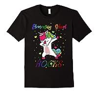 Eletary School Rocks Dabbing Unicorn Back To School Gifts T-shirt Black