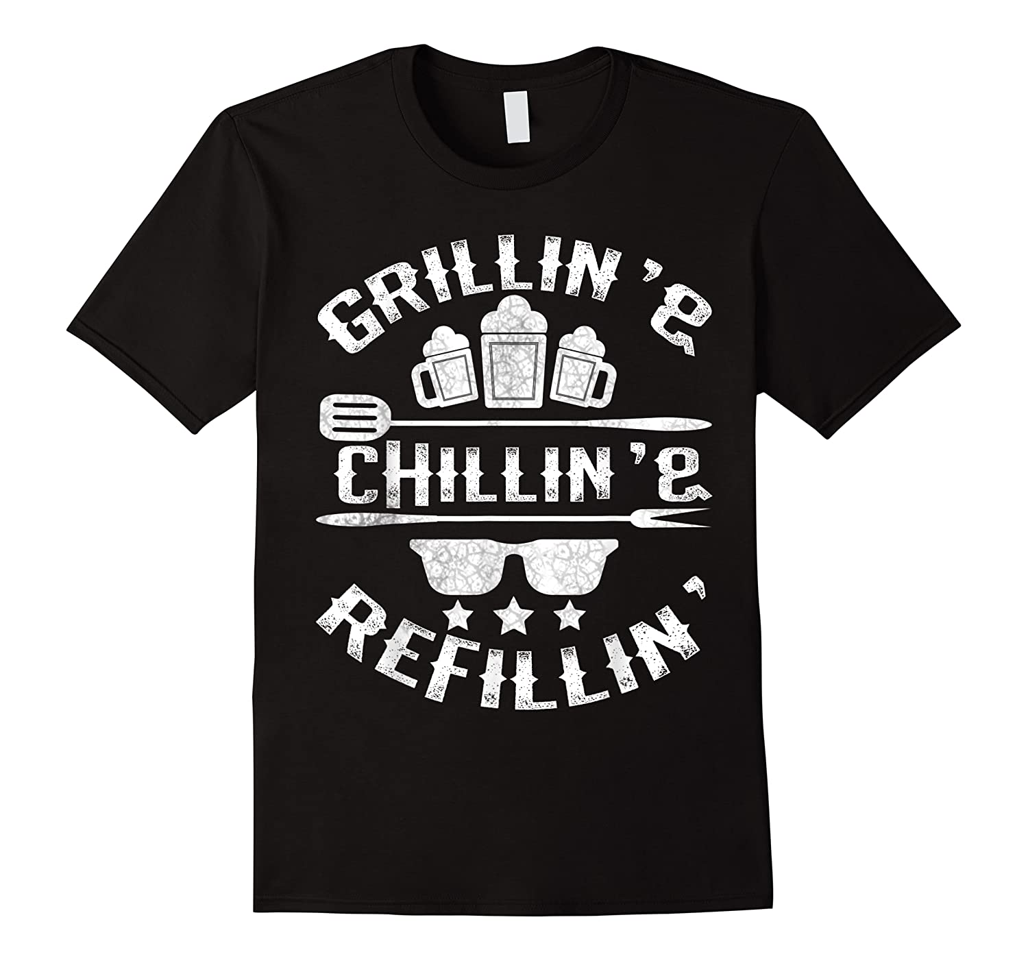 Grilling Chilling Refilling Shirts