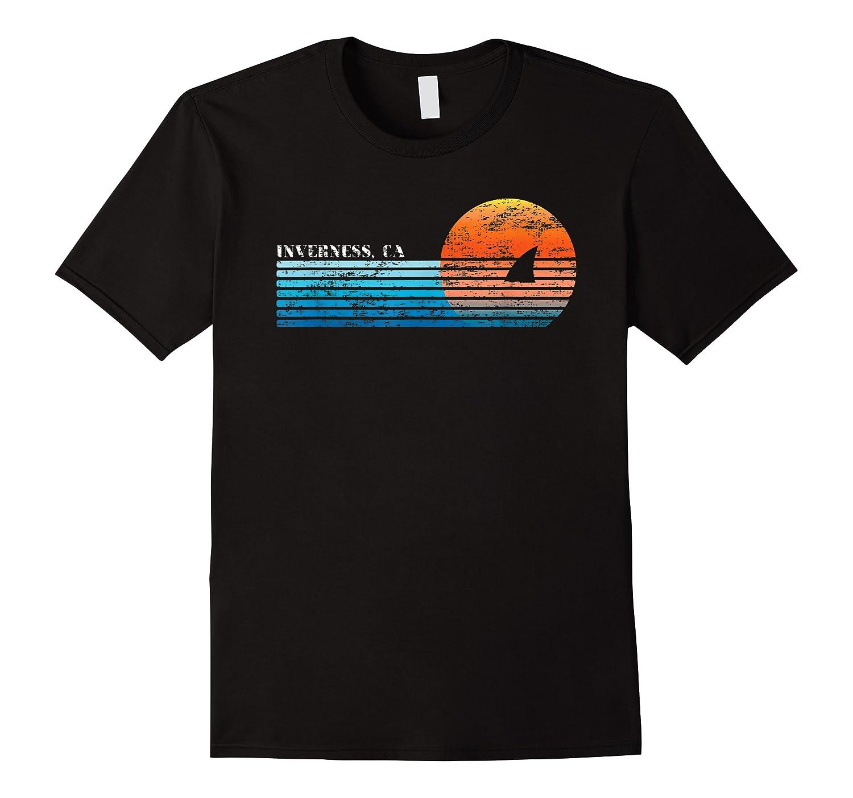 Vintage Inverness, Ca Retro 80s Shark Fin Sunset Shirts