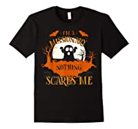 Missionary Nothing Scares Me Funny Halloween T-shirt Black