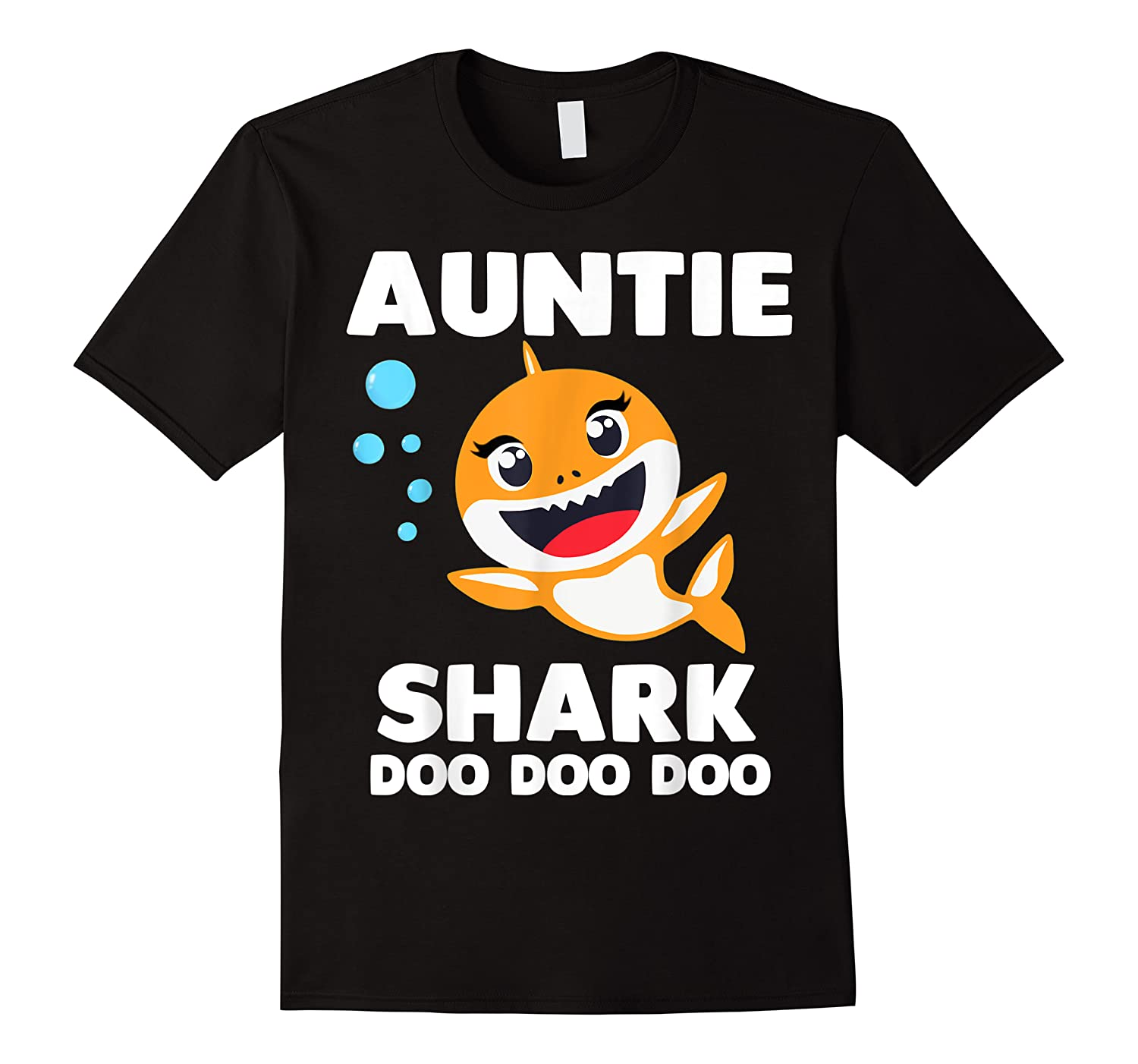 Auntie Shark Doo Doo Uncle Mommy Daddy Aunt Shirts