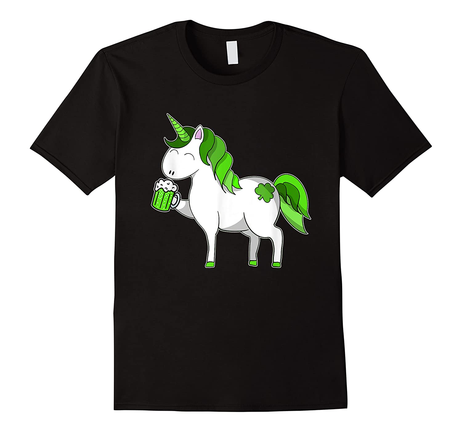 Lepricorn Unicorn St Patrick's Day With Green Clover Shirts