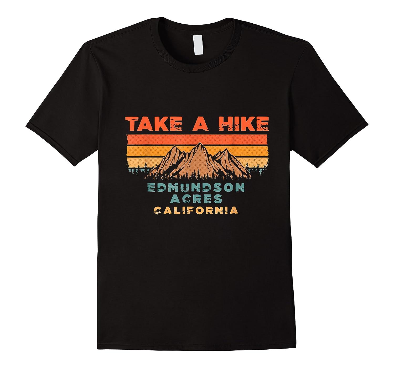California Vintage Take A Hike Edmundson Acres Moutain T-shirt