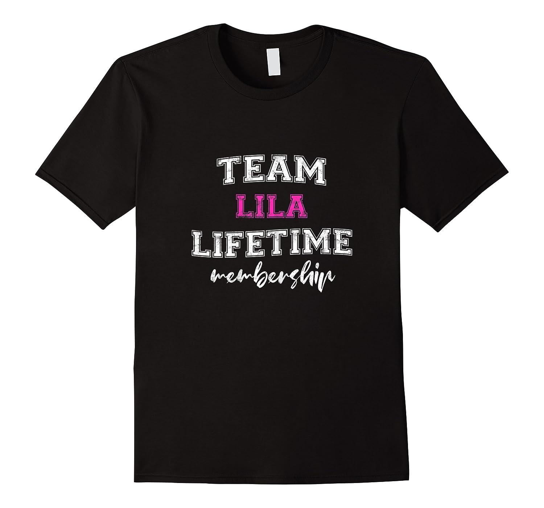 Team Lila Bride Squad Custom Bachelorette Party Wedding Shirts