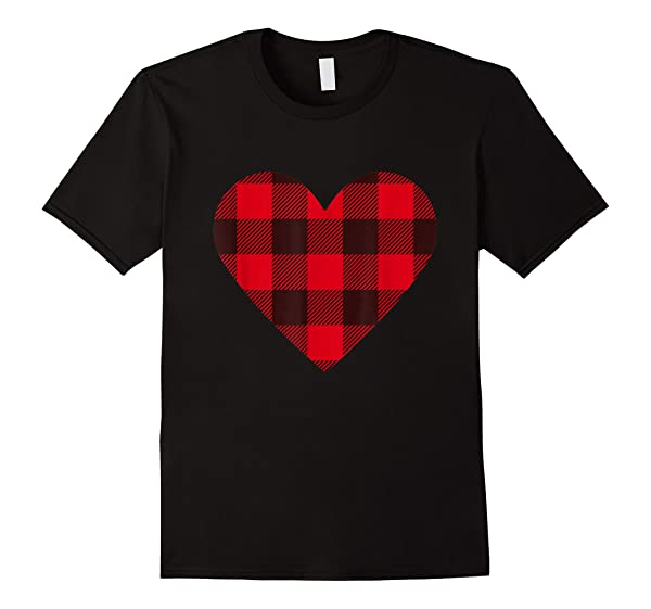 Nice Checkered Heart Unisex T-shirt