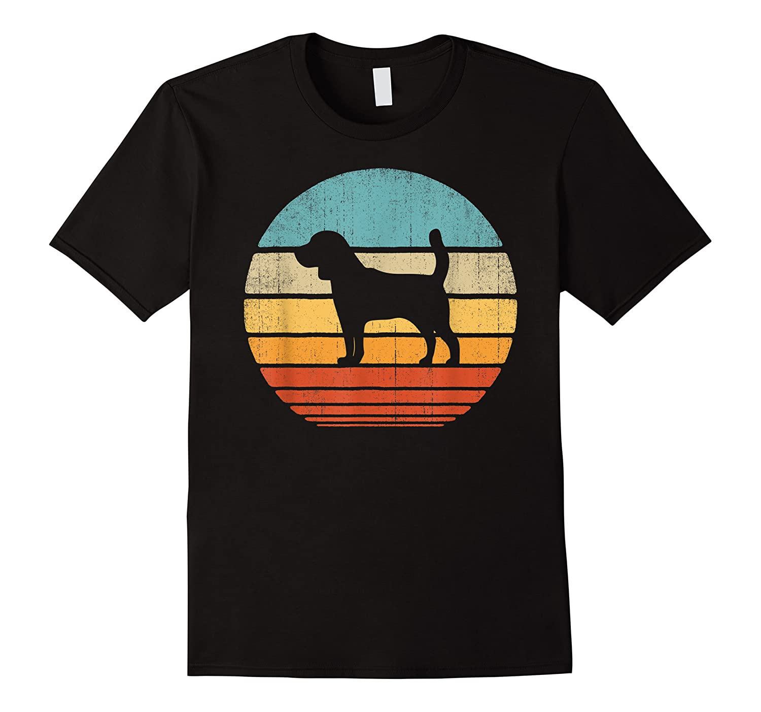Beagle Retro Vintage Style 60s 70s Gifts Dog Lover Shirts