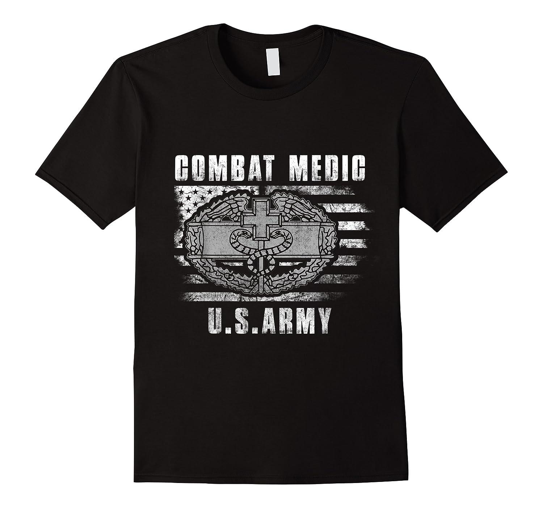 Combat Medic Us Army Flag America 4th July Shirts