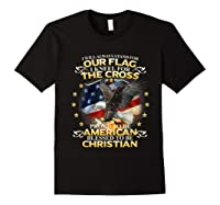 Christian Patriotic American Flag Shirts Black