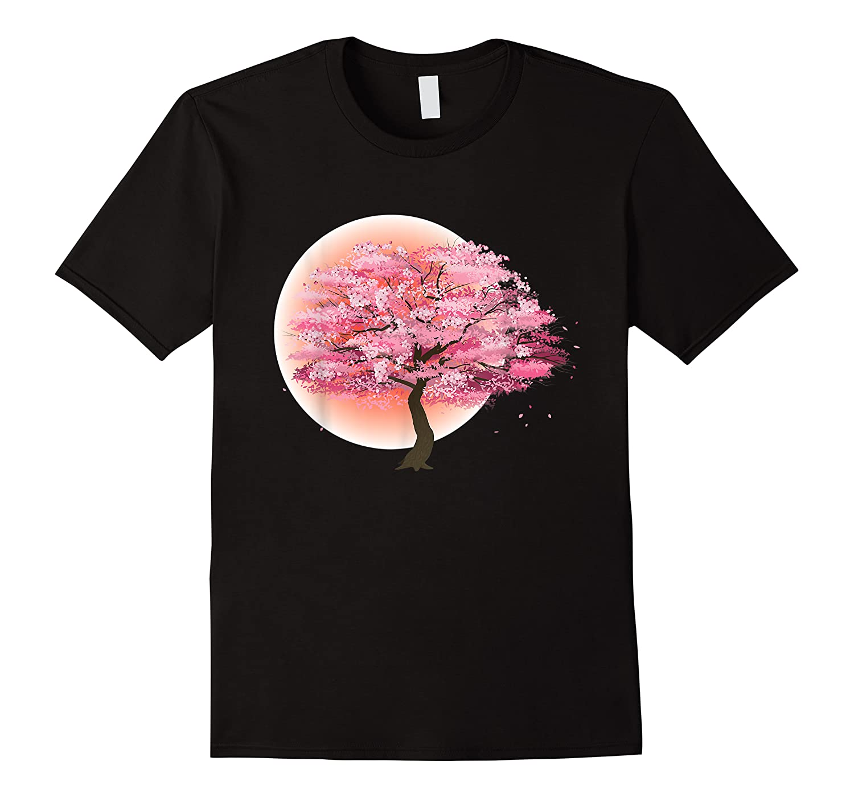 Japanese Tree Art Print Gift Sakura Japanese Cherry Blossom Shirts