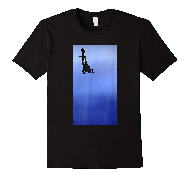 Scuba Diving Ascension Descension Scuba Diver Shirts