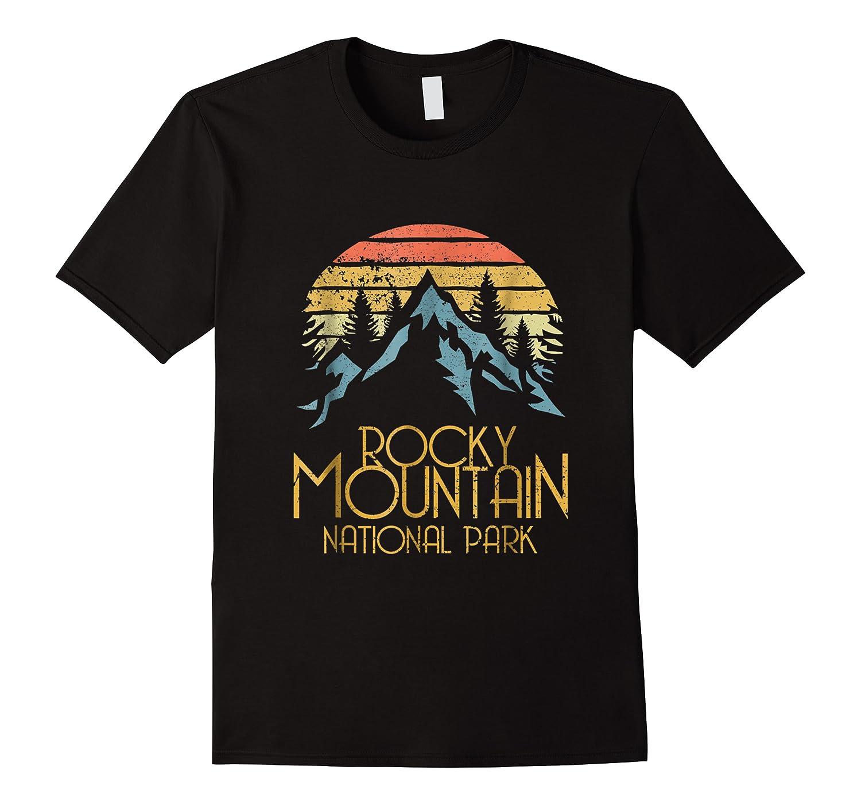 Vintage Rocky Mountains National Park Colorado Retro Shirts