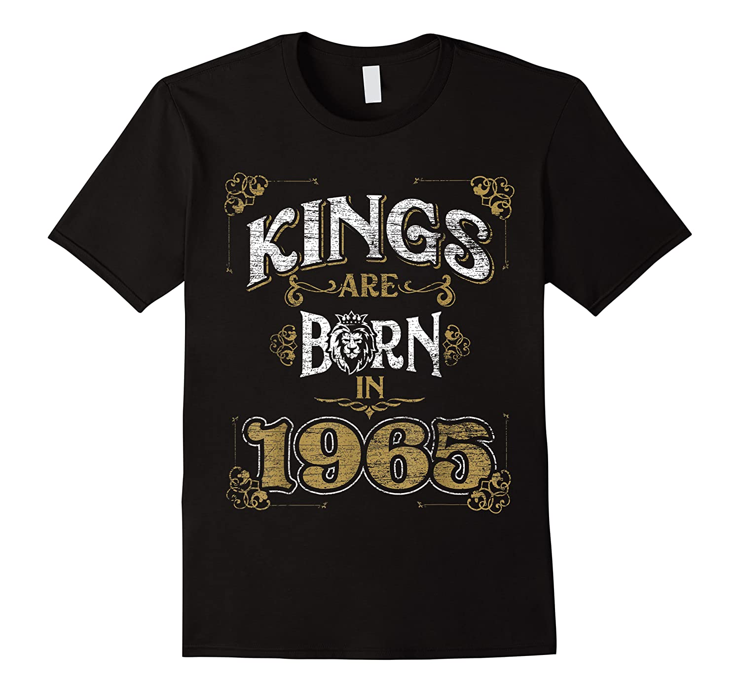 Kings Are Born In 1965 Bday Gifts 55th Birthday Shirts