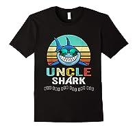 Uncle Shark Doo Doo T-shirt Black