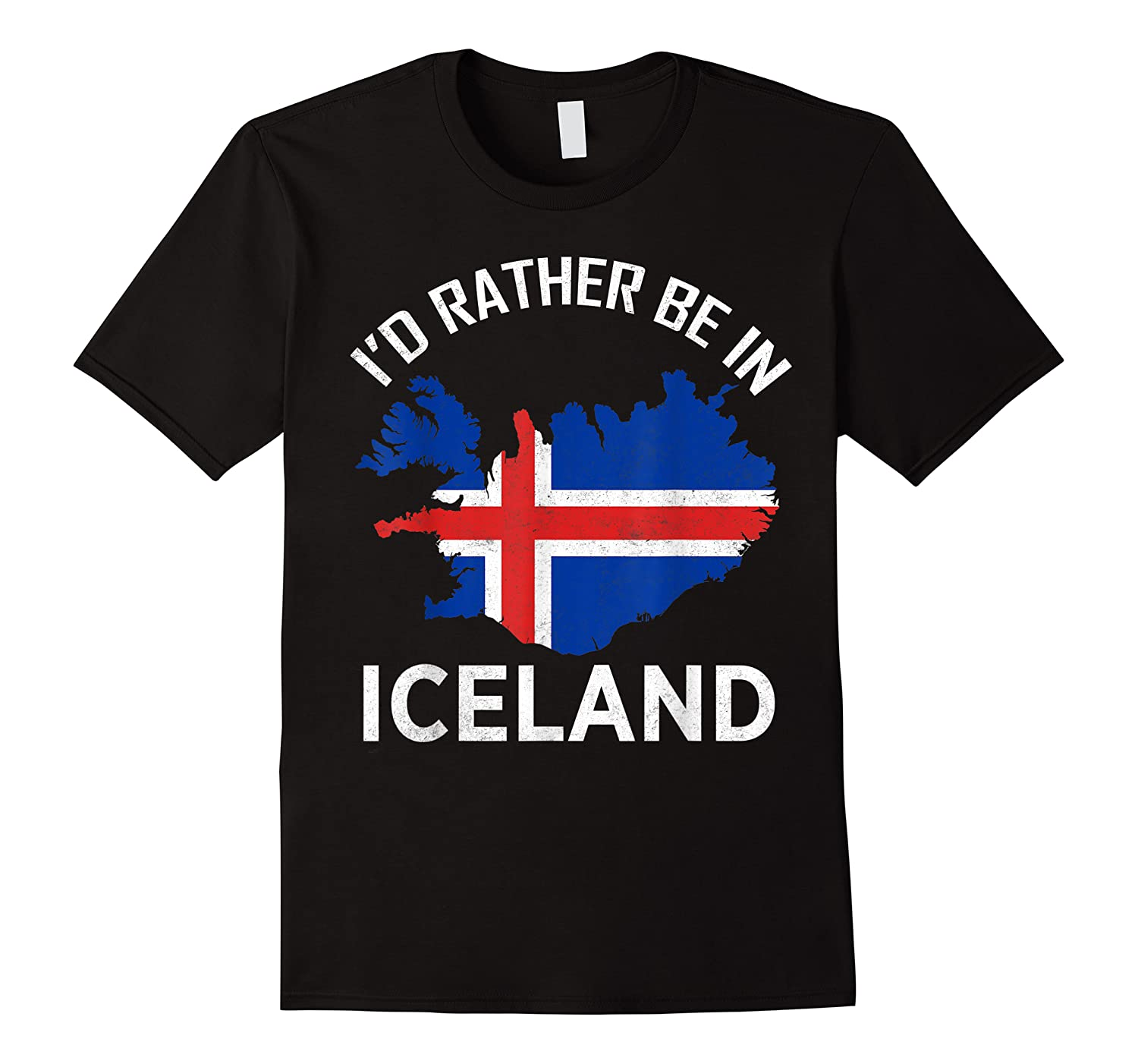I'd Rather Be In Iceland Island Europe Nordic Shirts