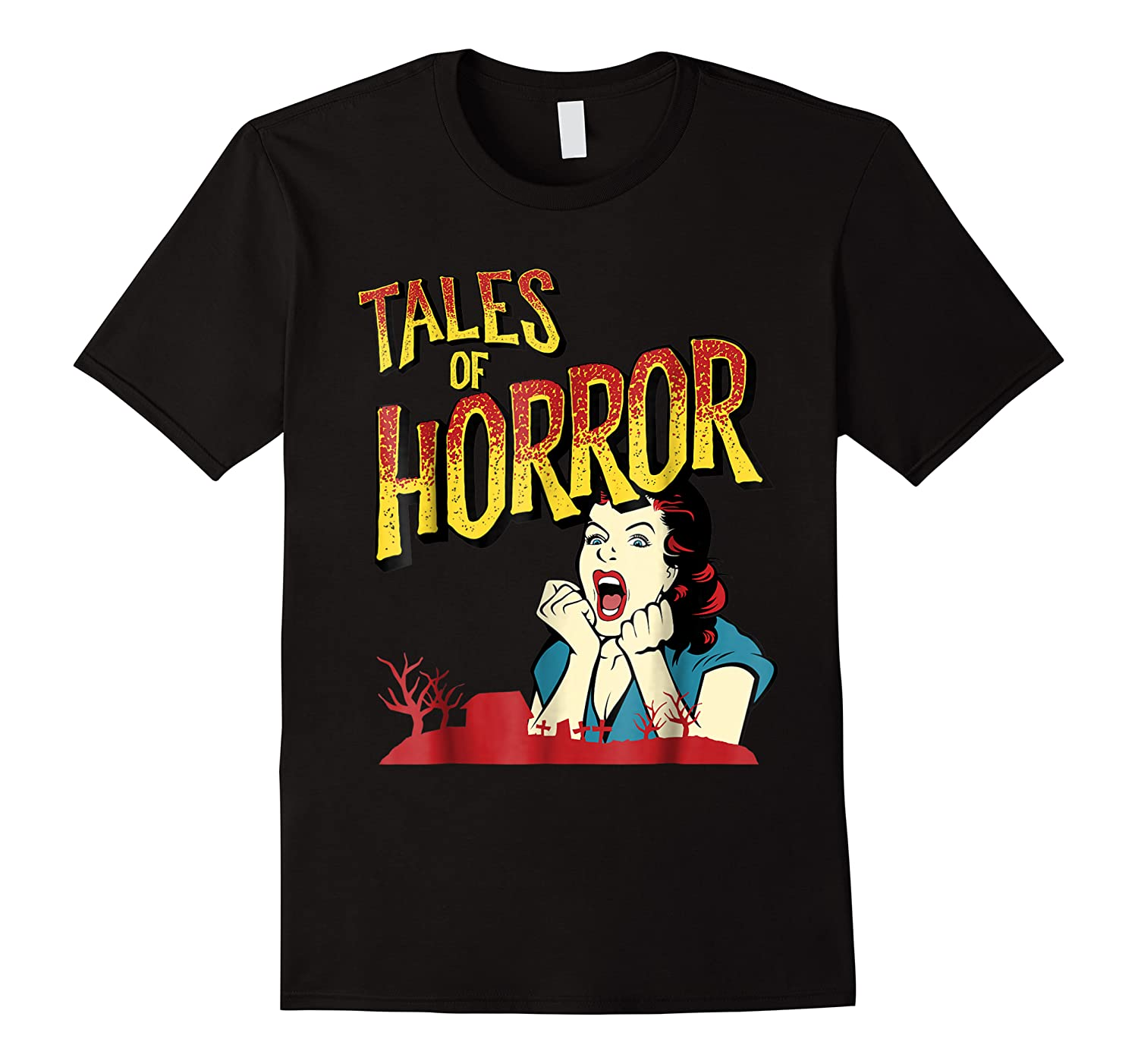 Vintage Horror Movie Poster Funny Halloween Shirts