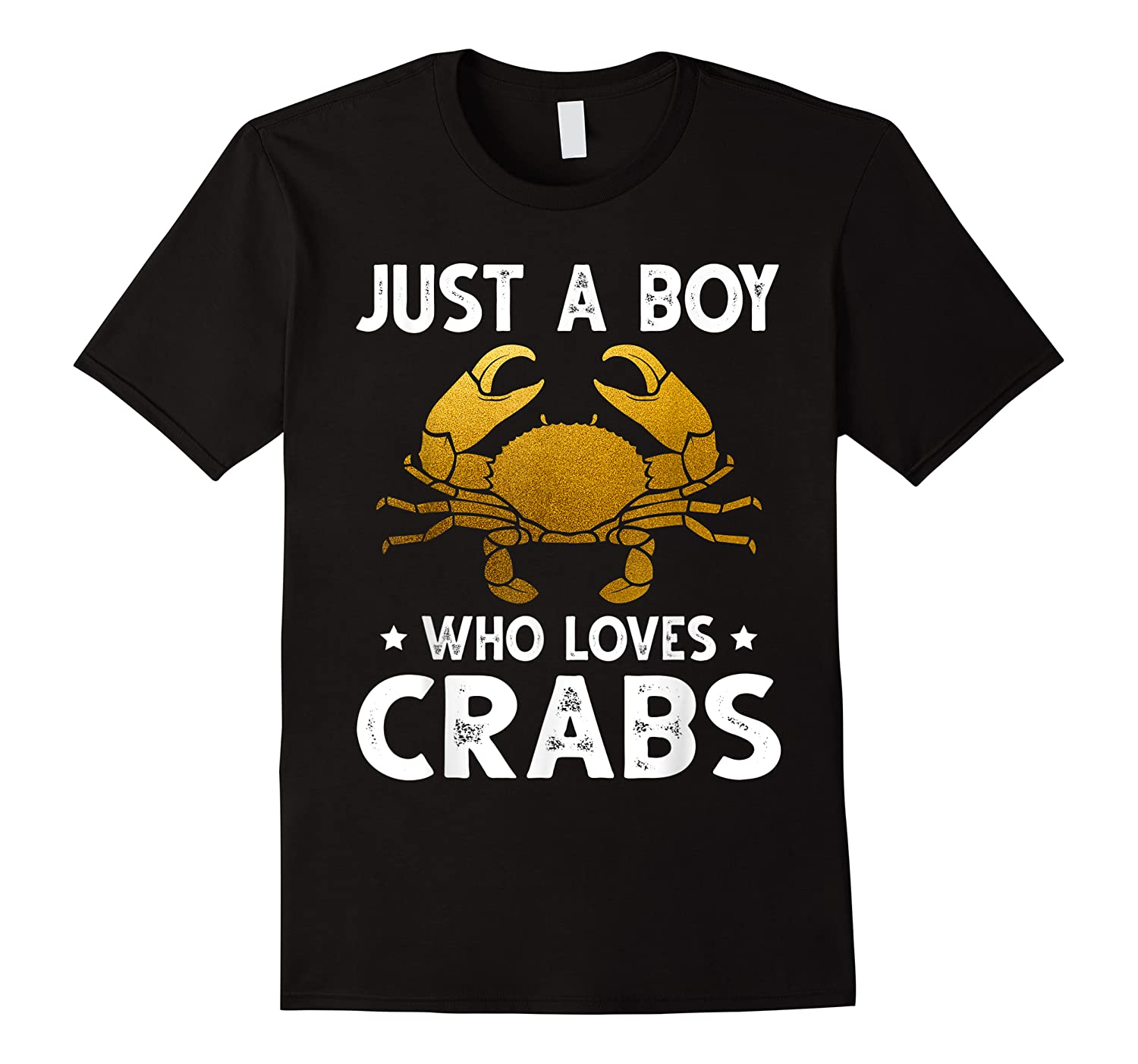 Just A Boy Who Loves Crabs Cute Animals Lovers Shirts