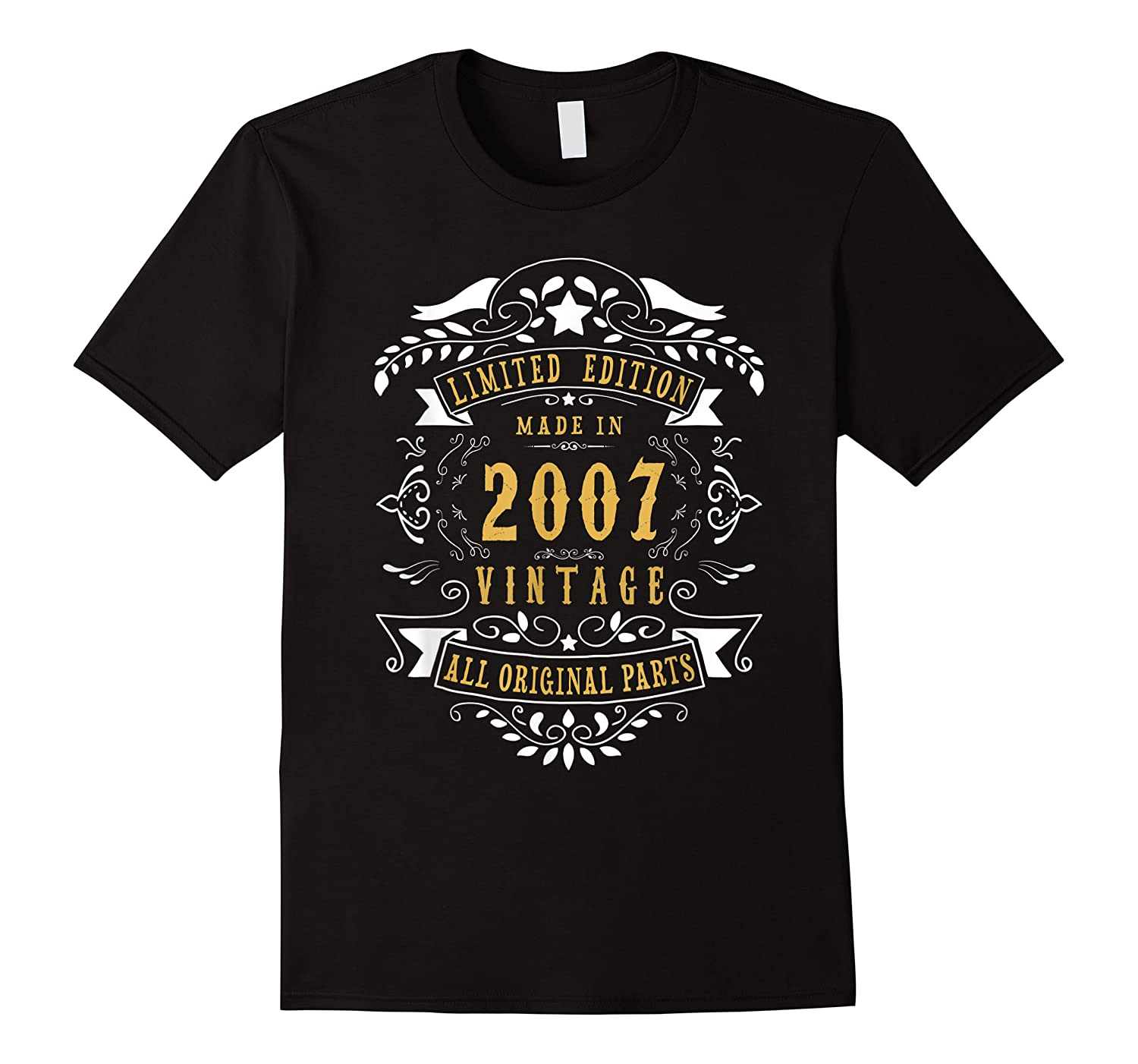 13 Years Old Made In 2007 13th Birthday, Anniversary Gift Shirts