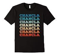 Funny Mexican Mom Gift Chancla T-shirt Black