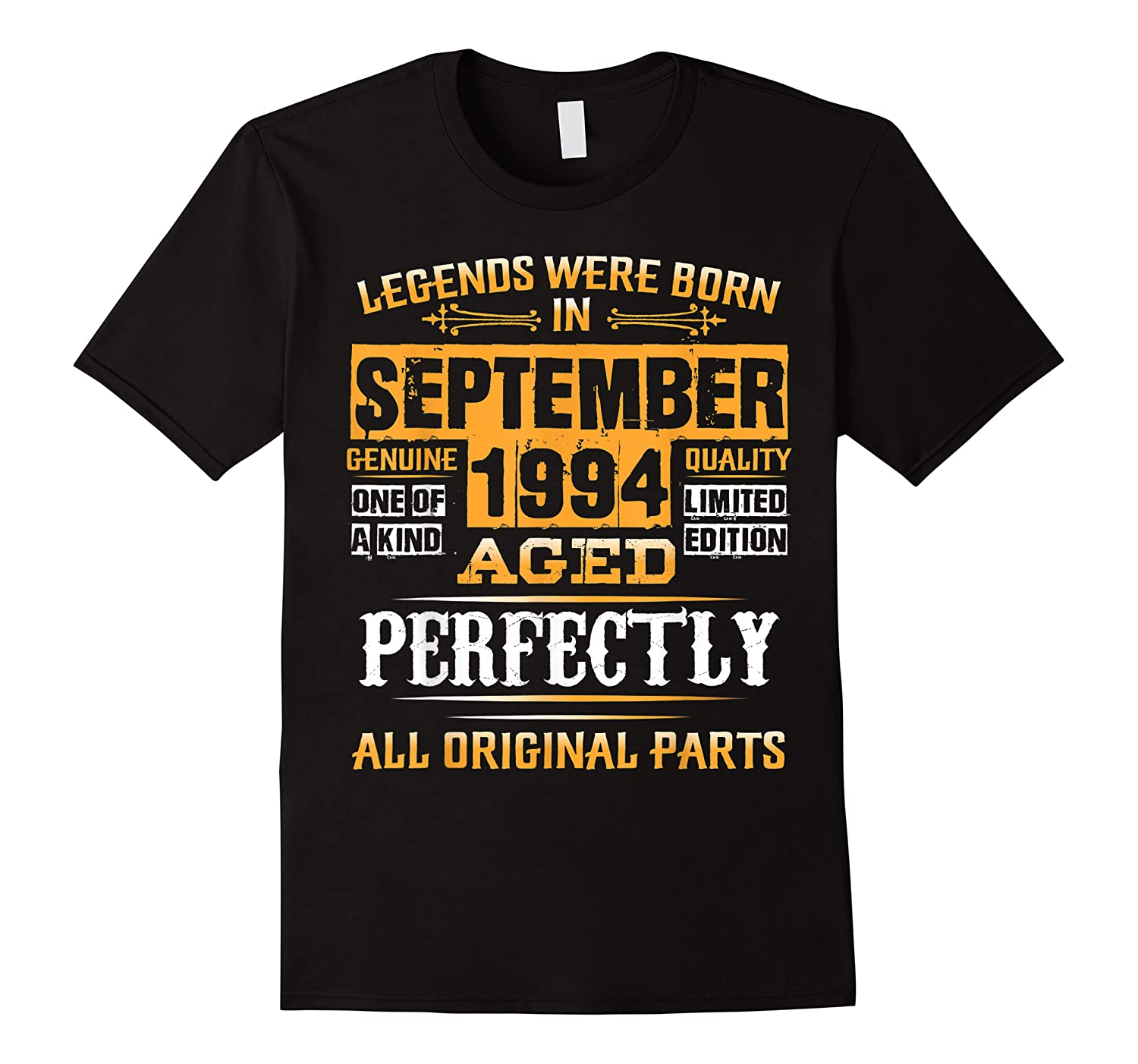Vintage September 1994 Birthday Gift For 25 Yrs Old D1 Shirts