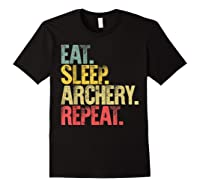Eat Sleep Repeat Gift Shirt Eat Sleep Ary Repeat T-shirt Black