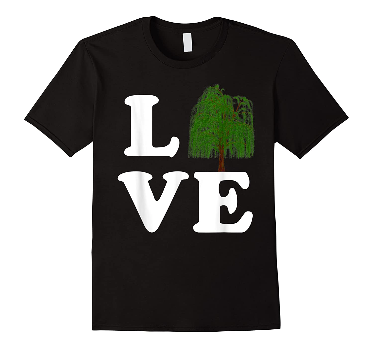 Love Trees Shirt Earth Day Weeping Willow Tee T-shirt