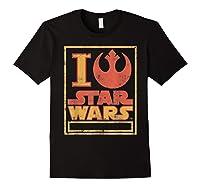S Rebel Alliance Love Shirts Black