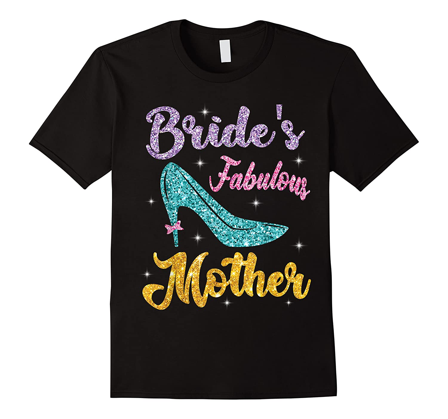 Bride's Fabulous Mother Happy Wedding Married Memory Day Shirts