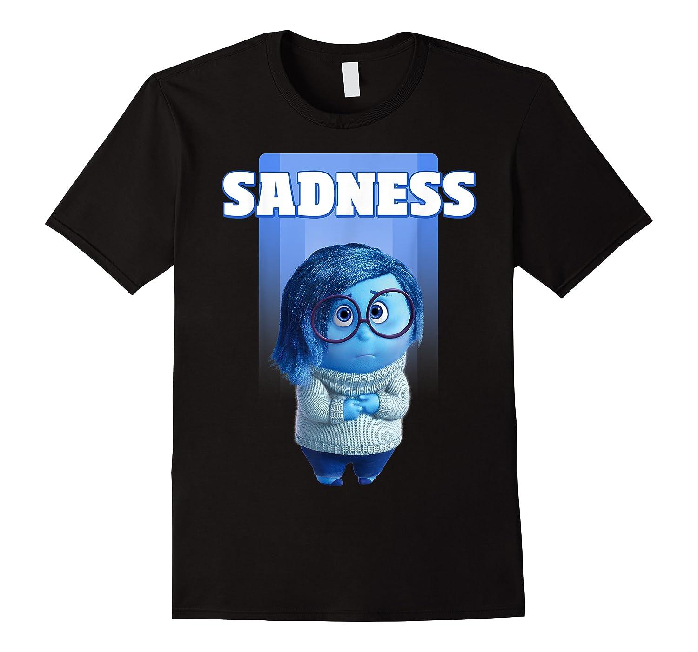Pixar Inside Out Sadness Portrait Shirts