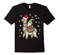 Santa Hat Christmas - Santa Gnome T-shirt Black