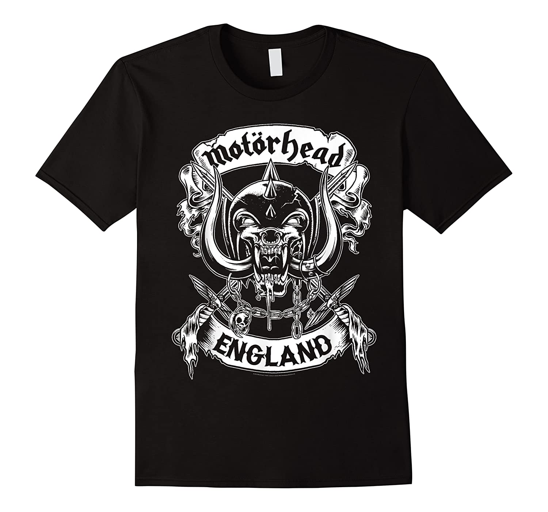 Motrhead England Crossed Swords Shirts