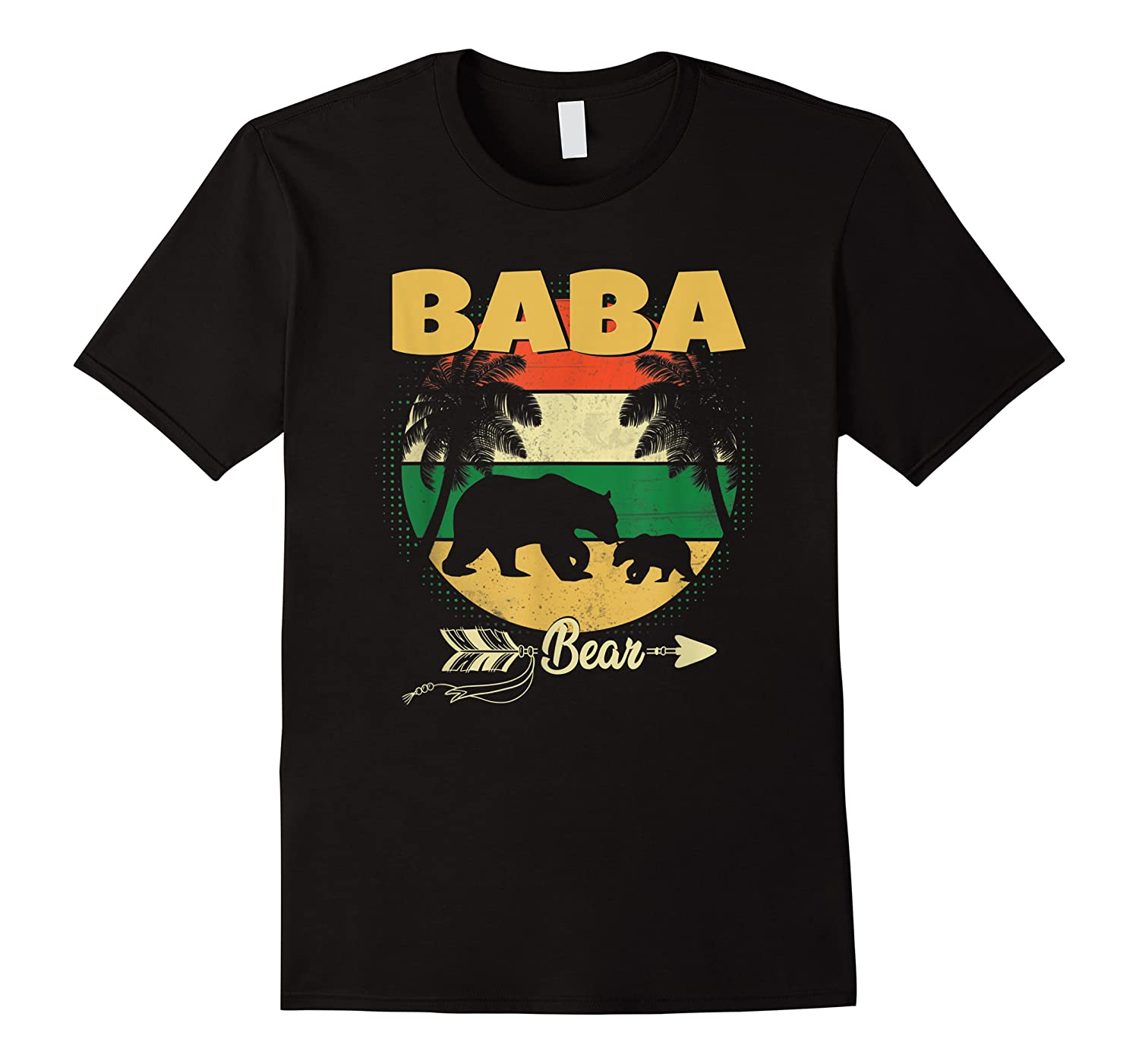 Fathers Day Baba Bear Perfect Gift For Dad Father Grandpa Shirts
