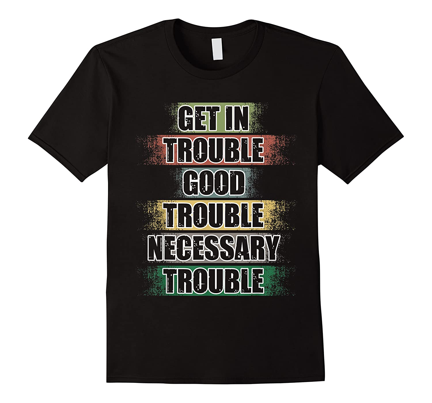 Get In Good Necessary Trouble John Lewis Social Justice Shirts