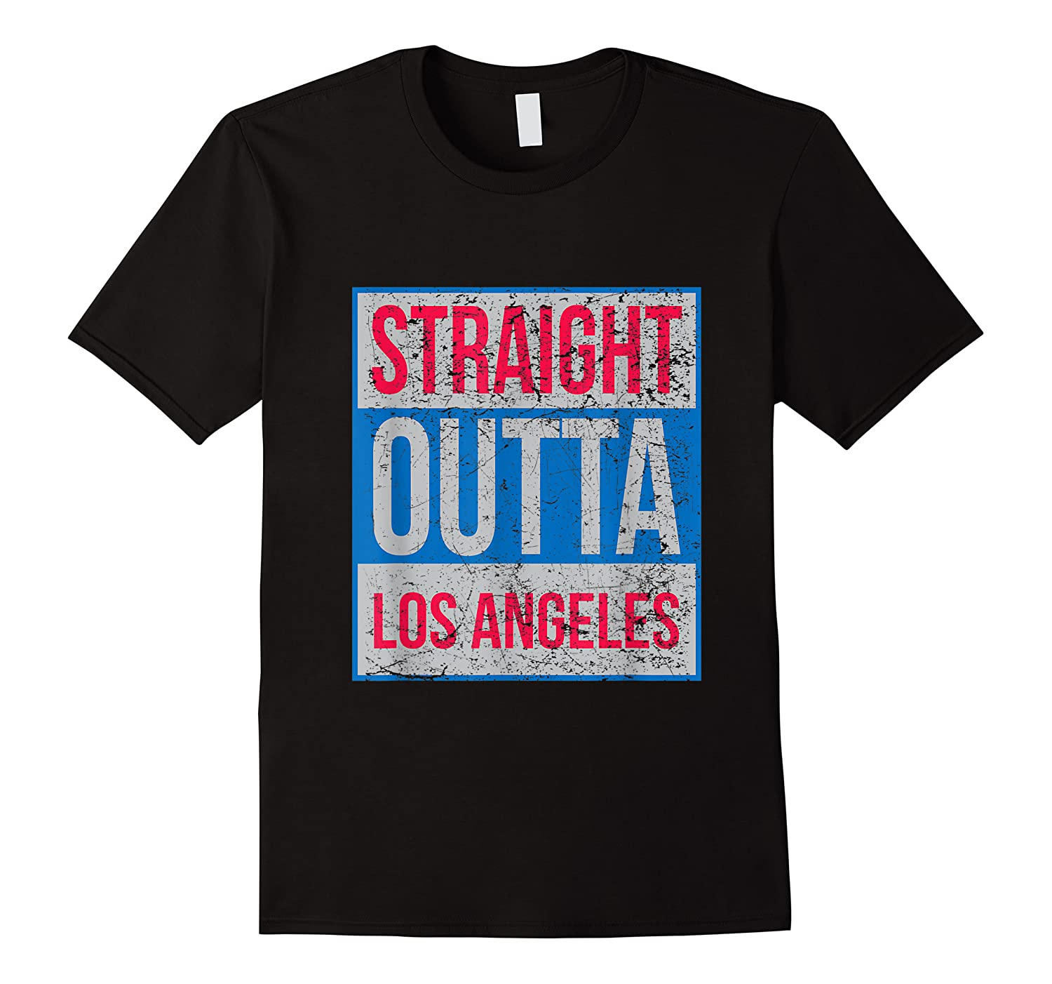 Straight Outta Los Angeles Basketball Shirts