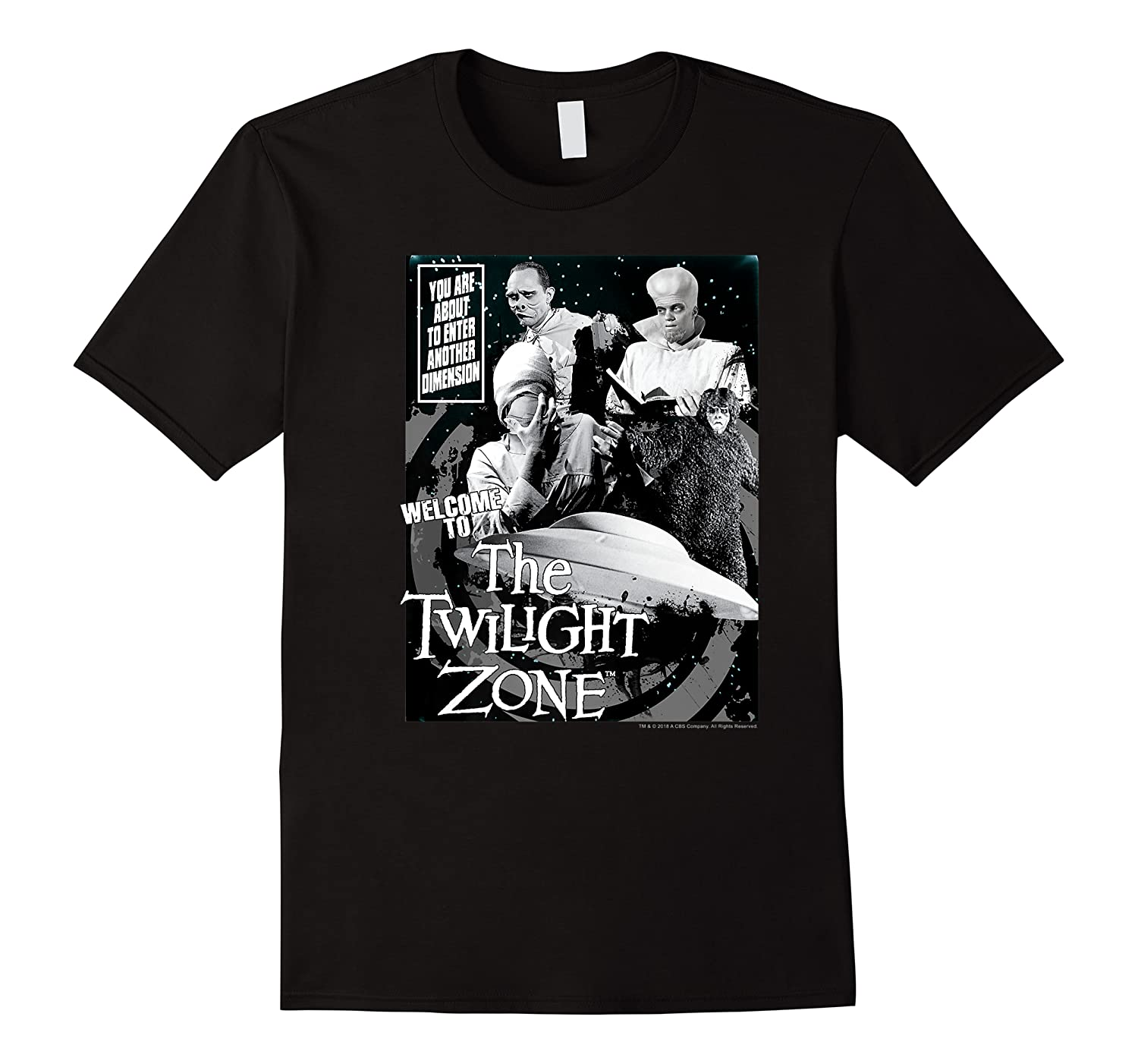 Twilight Zone About To Enter Another Dision Shirts