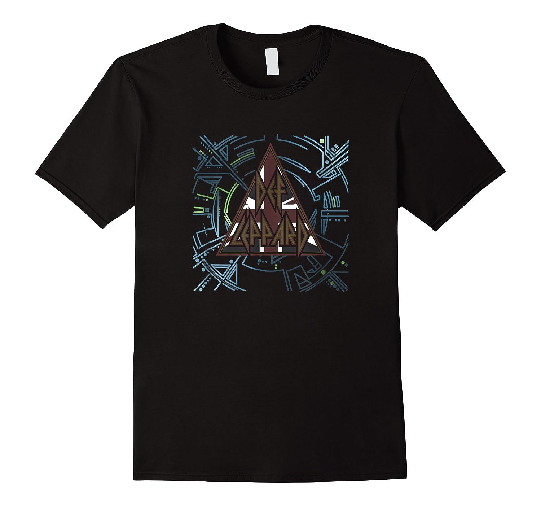 Def Leppard Union Jack Hysteria Shirts