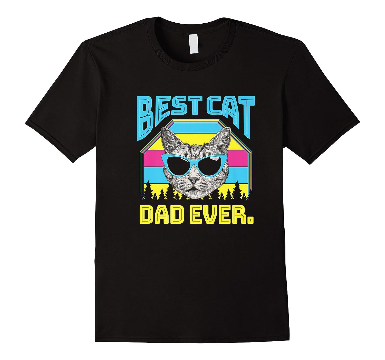 S Best Cat Dad Ever Cat Daddy Gift Premium T-shirt