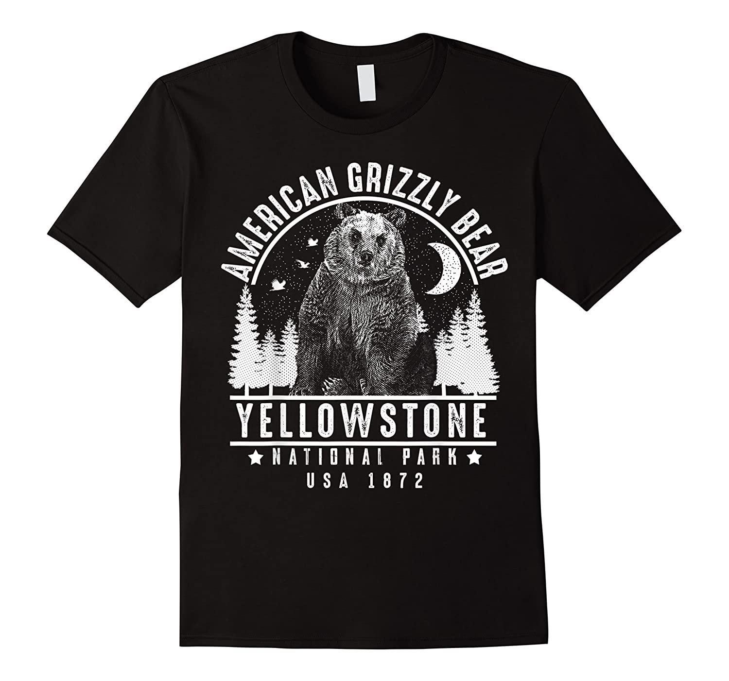 American Grizzly Bear Yellowstone National Park Gift Shirts
