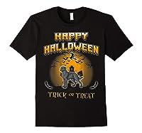 Chesapeake Bay Retriever Dog Happy Halloween T-shirt Black